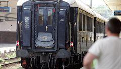 Vlak na Vysočině jel několik kilometrů bez strojvedoucího. Uvnitř bylo 11 cestujících