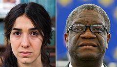 Nobelovu cenu míru mají konžský lékař Mukwege a jezídka Muradová