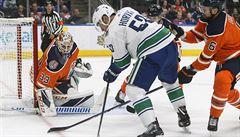 Kabina Canucks v očekávání. Rozjede-li se NHL, hokejisté své potomky uvidí jen přes Skype