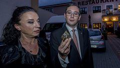 Zeman 'půjčil' Ovčáčka Mlsné tygřici. Kandidátka do Senátu Holovská našla rádce, se kterým si i zatančí