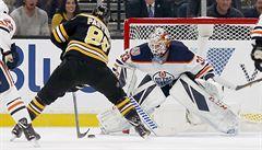 VIDEO: Pastrňák nadchl v NHL úžasnou fintou, skóroval také Nosek