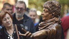 Špinarové se prý nepodobá. Nová socha zpěvačky v Ostravě sklízí kritiku