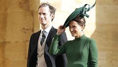 Pippa Middletonová, sestra vévodkyně Kate, porodila syna
