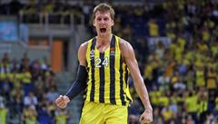 Velké ocenění. Jan Veselý byl vyhlášen nejlepším hráčem basketbalové Euroligy