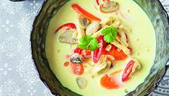 Thajská kokosová polévka podle Karolíny Kamberské