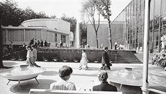 Pavilon se zlatou hvězdou na čele. Šedesátá léta byla návratem k odkazu meziválečné architektury