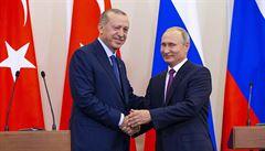Sýrie mezi osmi očima. Merkelová, Putin, Macron a Erdogan o ní budou jednat v Istanbulu
