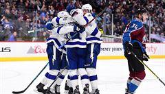 Kučerov rozhodl 150. gólem v NHL o výhře Tampy Bay v Coloradu