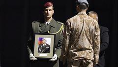Sbírka na pomoc pozůstalým vojáka Procházky, který padl v Afghánistánu, vynesla 1,5 milionu