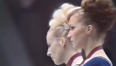 VIDEO: Veřejně zostudila Sovětský svaz. Před 50 lety Věra Čáslavská demonstrativně 'odvrátila hlavu'