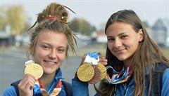 'Těším se na jídlo od maminky,' prohlásila po třech medailích plavkyně Seemanová