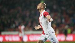 Fotbalisté Slavie se výhrou nad Duklou naladili na nedělní derby