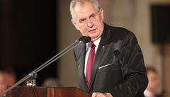 Prezident Zeman nabídl kandidaturu na ústavního soudce akademikovi Gerlochovi