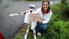 Robot Matylda se vydal na cestu autostopem