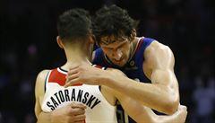 NBA: Satoranský se na palubovce neohřál. Jeho Wizard prohráli počtvrté v řadě