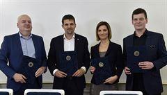 Vládu v Brně potvrdil oficiální podpis. Koaliční smlouvu nedojednali kmotři, říká Vaňková