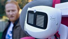 Robot Matylda se dostal do Pelhřimova, za týden urazil 1718 kilometrů