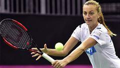 Kvitová trénovala půl hodiny, start ve finále Fed Cupu je ale stále nejistý