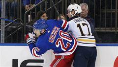 NHL: Sobotka pomohl dvěma góly Buffalu, Krejčí zaznamenal tři přihrávky