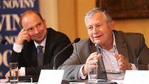 Jan Koukal, Mayor of Prague 1993-1998 and Ambassador to Vienna in 2006 -...
