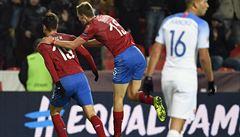Češi porazili Slováky také podruhé a zůstanou pro kvalifikaci ME ve druhém koši