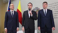 Pražská TOP 09 nechce kritikou primátora Hřiba rozbít koalici. Nejde nám o politikaření, říká Pospíšil
