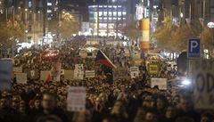 VIDEO: 'Ať Babiš podá demisi'. V Česku se demonstrovalo proti premiérovi
