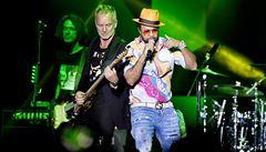 Sting se Shaggym bavili a rozezpívali zcela zaplněné Forum Karlín