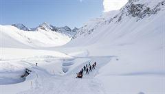 Sjezd dlouhý 12,8 kilometru. Údolí Ötztal vládne anketám o nejlepší skiareál Evropy