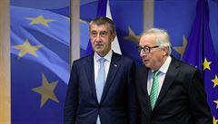 Juncker a Babiš by neměli jednat o auditu za zavřenými dveřmi, vyzývá Transparency International