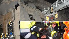 'Inferno jak ve filmu: buď lidi zachráním, nebo tady zůstanu.' Exkluzivní výpovědi a záběry z tragického požáru hotelu