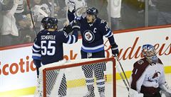 NHL: Winnipeg porazil Colorado. Útočník Wheeler zazářil pěti body