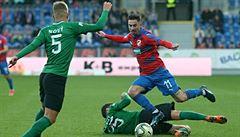 Plzeň v lize zaváhala a jen remizovala s Příbramí, Slavia porazila Zlín
