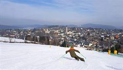 Lyžování v Sasku? Krušné hory se šnitzlem