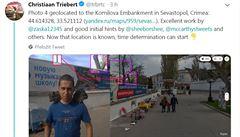 Odhalili útočníky na Skripala, zaměřili se na Babiše ml. Bellingcat pomohl ověřit snímky z Krymu