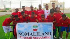 Mají reprezentaci i peníze, fotbalisté Somalilandu však nemohou hrát o mistrovství světa