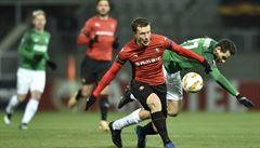 Jablonec - Rennes 0:1. Severočeši byli v zápase lepší, chybělo lepší zakončení