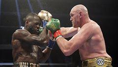 Navrátilec Fury trápil šampiona. Wilder i po remíze zůstává mistrem světa