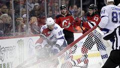 NHL: Palát a Nečas byli hvězdami utkání, Poláka odvezli do nemocnice