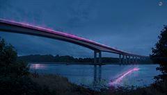 Umělci brání sebevraždám, oživili nejdepresivnější most v Evropě