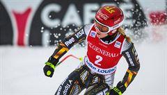 V superobřím slalomu opět dominovala Shiffrinová, Ledecká získala dva body
