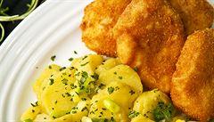 Vánoční večeře jako ve Středomoří. Recept na mořského ďase a dalmátský bramborový salát
