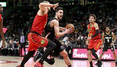 Satoranský vypadl ze základu, Wizards podlehli v NBA Atlantě