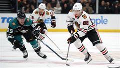 NHL: Kaše pomohl Anaheimu třemi body k výhře a byl hvězdou zápasu