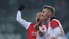 Slavia po pěti letech porazila v lize Jablonec a přezimuje v čele s náskokem čtyř bodů