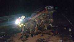 Tragický víkend na silnici. Při nehodě u Domažlic zemřeli tři mladí lidé, další žena u Kozolup