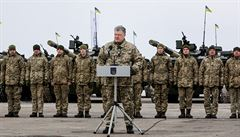 'Ruská vojska porušila příměří.' Při ostřelování byl zabit ukrajinský voják