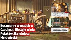 'Hrůzostrašná nehoda'. Důlní tragédii u Karviné řeší celé Polsko, stala se hlavní zprávou