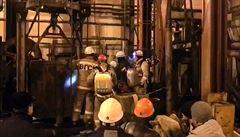Devět ruských horníků zemřelo. Při požáru uvízli v šachtě