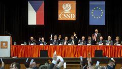 ČSSD plánuje sjezd na příští rok. Vybírat bude předsednictvo a ústřední výkonný výbor